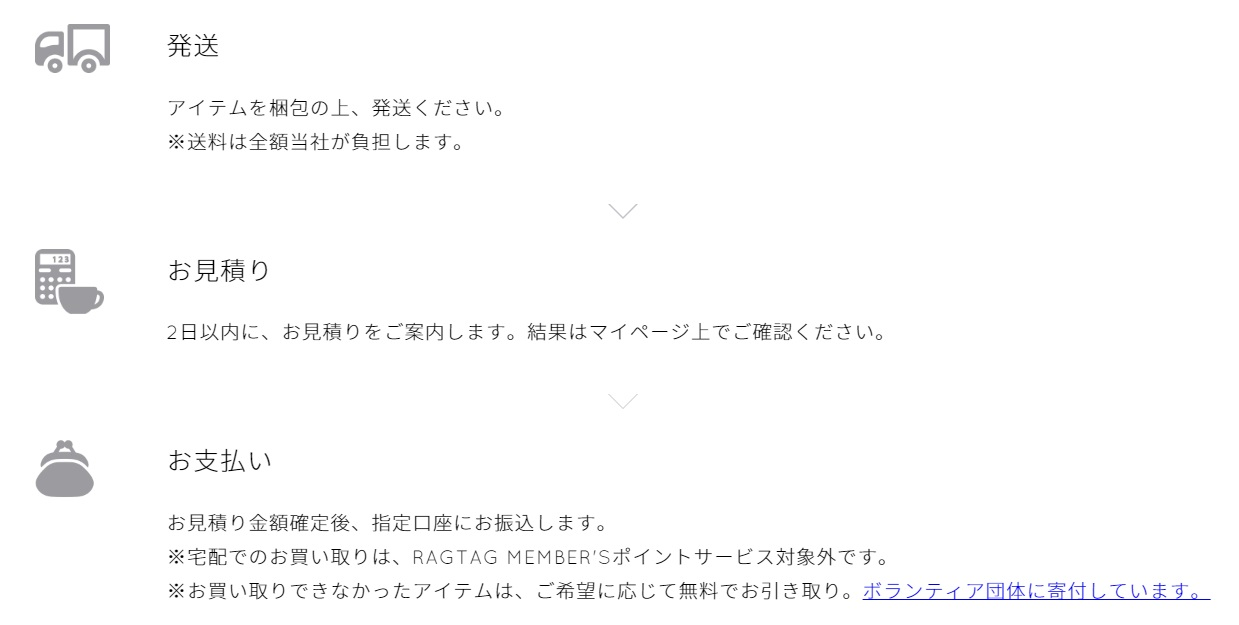 出典:https://www.ragtag.jp/sell/